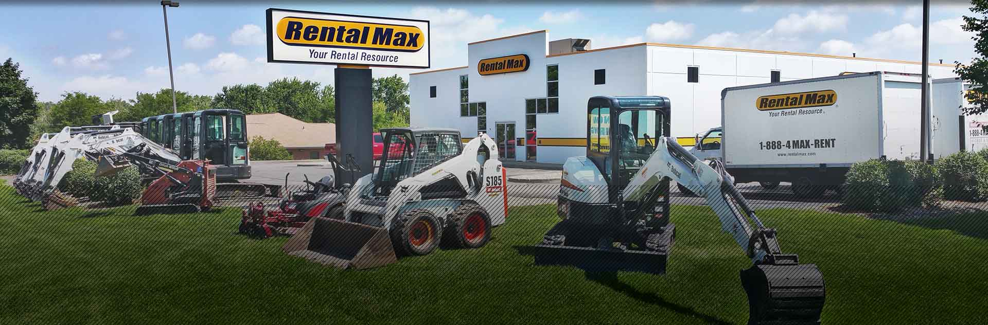 Equipment rentals from RentalMax in Chicagoland