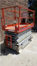 Used Equipment Sales MANLIFT, 32  SCISSORS LIFT SJ 4632 46 w  0417 in Chicago IL