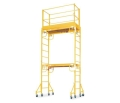 Rental store for SCAFFOLDING, INDOOR W WHEELS, 2 SECTION KIT, 2.5 x11 in Chicago IL