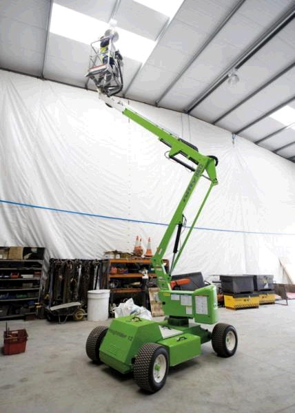 Where to find MANLIFT, 34  BOOM LIFT 2WD in Chicago
