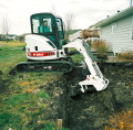 Rental store for COMPACT EXCAVATOR, TRACK MOUNTED, 10  DIGGING DEPTH in Chicago IL