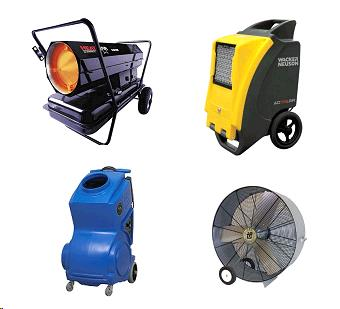 Rent Heaters, Fans & Scrubbers
