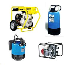 Rent Pumps & Hoses